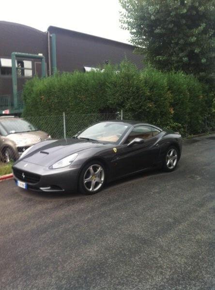 Прокат Ferrari в Италии
